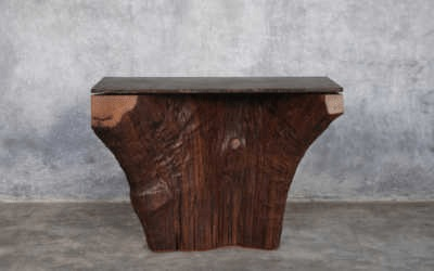 Iron wood console 6/12
