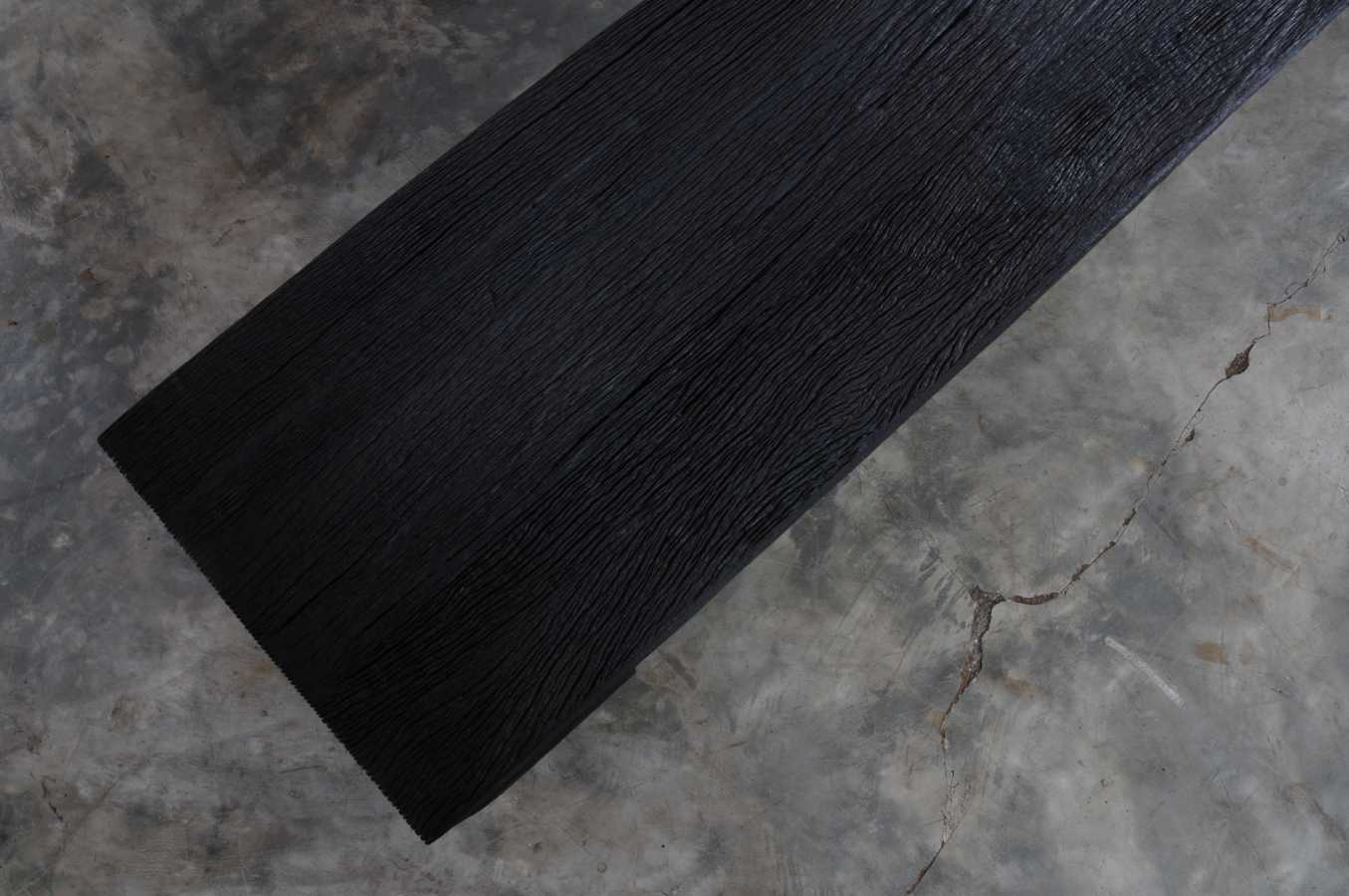 KALIMANTAN COLLECTION ERODED IRON WOOD BENCH 2 - 220x40x42cm 87x16x17' Custom size on request
