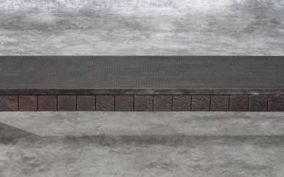Saringan coffee table / bench