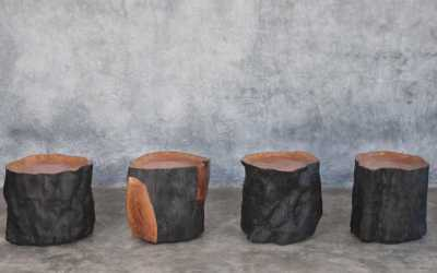 Litchie trunk side tables