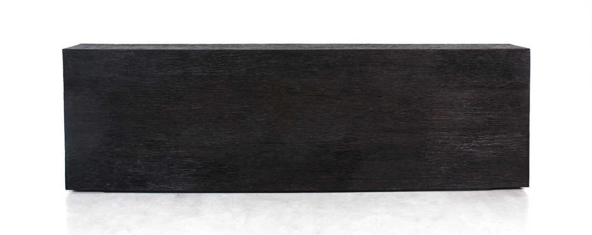 KALIMANTAN COLLECTION ERODED IRON WOOD CONSOLE 1 - 250x30x80cm 98x12x30' Custom size on request
