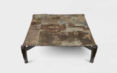 PIPA IRON STOOL – SIDE TABLE
